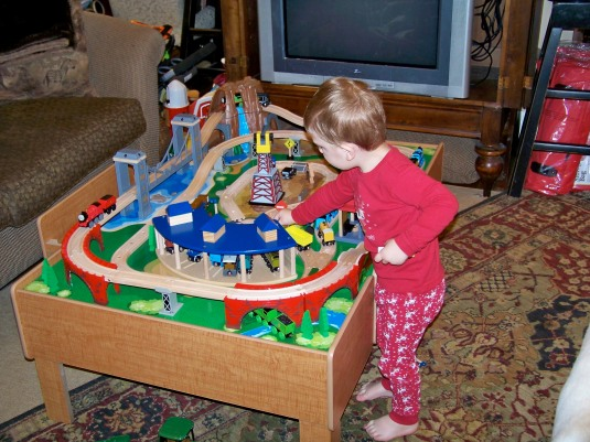 santa-brought-trains